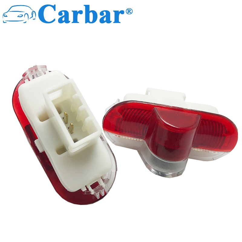 For Ford Car LED Door Welcome Logo Light Laser Shadow Projector Light For Mondeo Max Plug&Play Door Lamp For SEAT Alhambra
