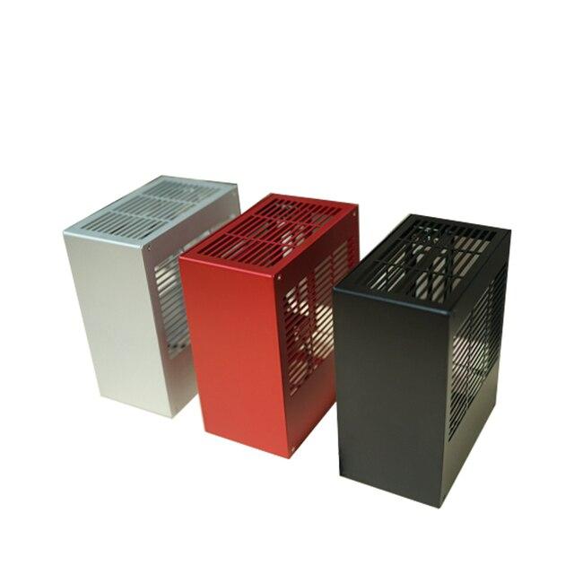 Alle Aluminium Htpc Itx Kleine Chassis Spel Computer Case Ondersteuning Videokaart RTX2070 I7 8700 PK39 K39