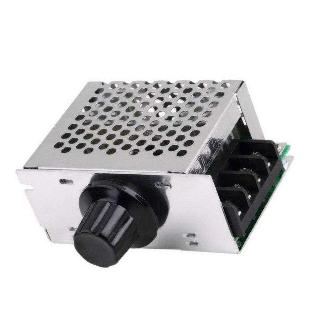 4000 Вт 220 В AC SCR контроллер скорости двигателя Модуль регулятор напряжения регулятор температуры диммер для электрической печи