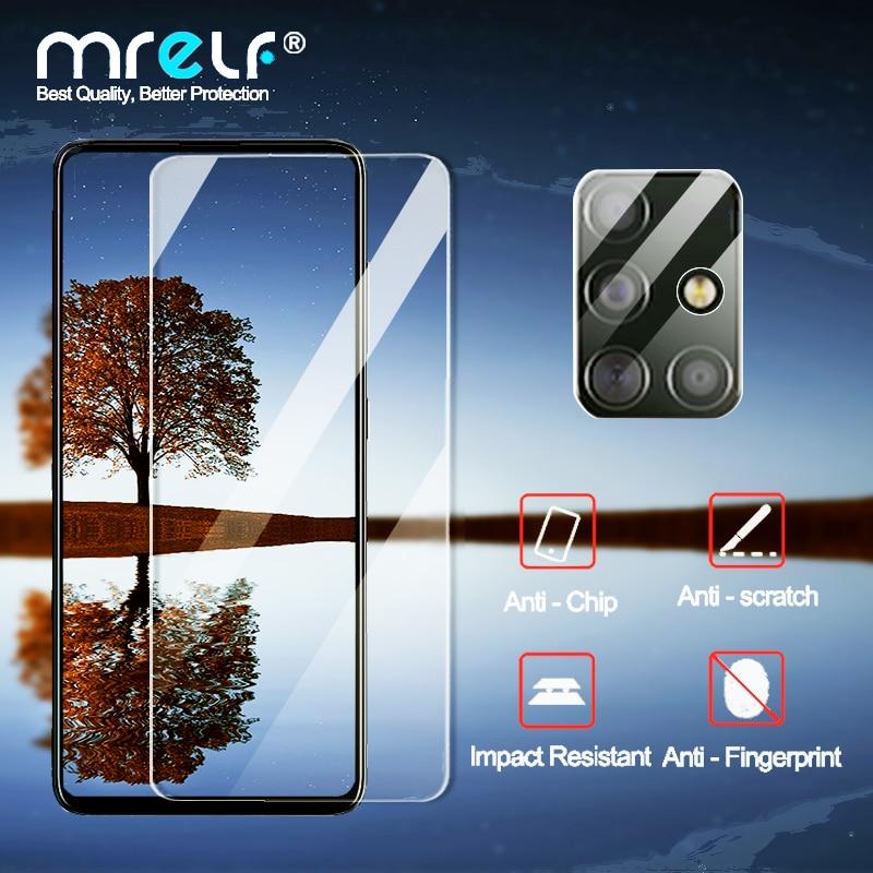 Закаленное стекло для Samsung A51 A50 A71 A10 стекло для Samsung Galaxy A51 A40 M21 Защита экрана для Samsung A41 A31 M31 стекло Защитные стёкла и плёнки      АлиЭкспресс