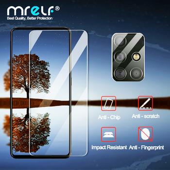 Szkło hartowane do Samsung A51 A50 A71 A10 szkło do Samsung Galaxy A51 A40 M21 ochraniacz ekranu do Samsung A41 A31 M31 szkło tanie i dobre opinie MRELF Jasne TEMPERED GLASS CN (pochodzenie) Przedni Film