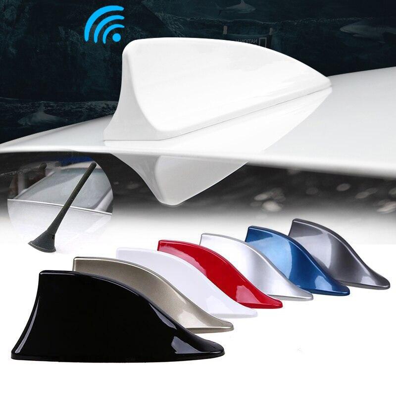 Универсальная автомобильная антенна плавник акулы авто радиосигнала антенны на крышу для BMW/Toyota/Hyundai/VW/Kia/Nissan автомобиль для укладки волос