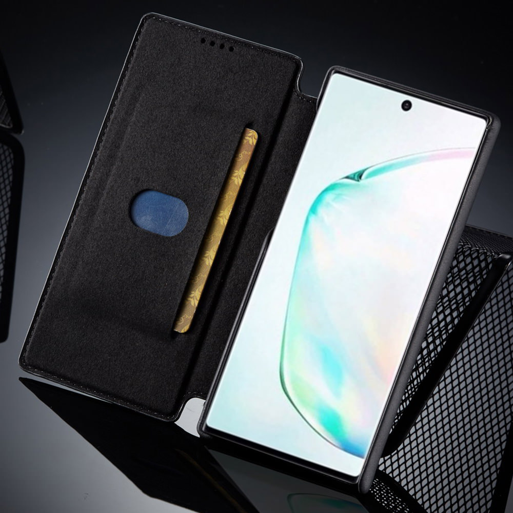 LLZ.COQUE Wallet Leather Case for Samsung S20 Ultra S9 Plus S10 5G S10E Flip Magnet Thin Cover for Galaxy S8 S7 Edge Note 8 9 10