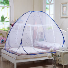 2019 plus récent Hot Portable Pop Up Camping tente lit auvent moustiquaire double reine roi taille(China)