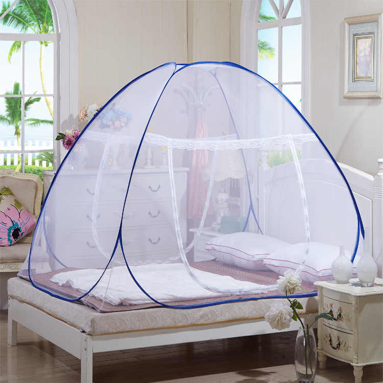 2019 Newest Hot Portable Pop Up Camping Tent Bed Canopy Mosquito Net Twin Full Queen King Size