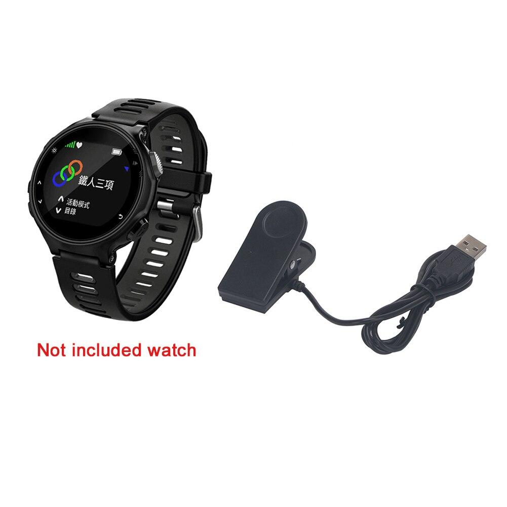 Зарядка портативный для Garmin Forerunner Клип зарядное устройство кабель Смарт часы прочный мини