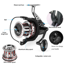 COONOR 12BBs Bearings Spinning Fishing Reel 4.7:1 Left/Right Collapsible wheel Mental Spool Spinning Reel carretilha de pesca