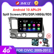 JMCQ Android 9.0 2 + 32GB DSP Mobil Radio Multimidia Video Player GPS Navigasi Mobil Stereo untuk Honda Civic 2005-2012 2din Head Unit(China)