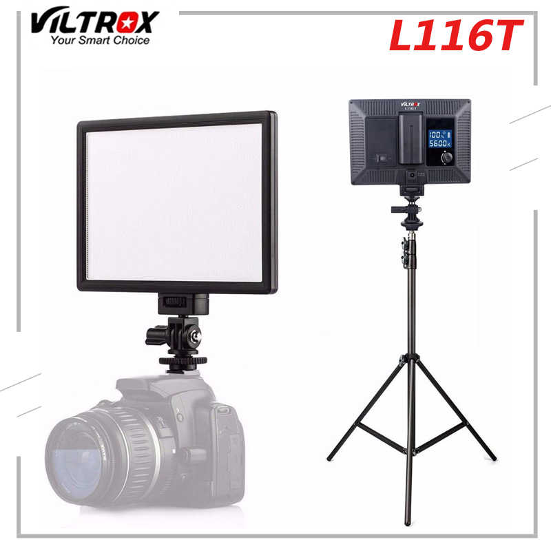 Viltrox L132T Profi LED Videolicht Fotografie Fülllampe für DSLR-Kamera P0A6