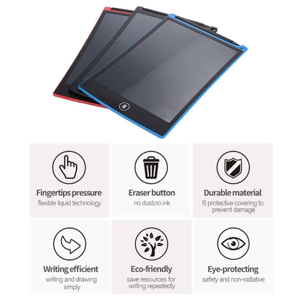 Black Environmentally Friendly Harmless Drawing Notepad LCD Notepad Student Write Red