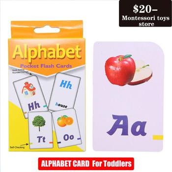 Early education puzzle letter alphabet  number recognition card kindergarten enlightenment teaching aids Montessori Toy children s wooden toys enlightenment early education learning card english spelling cognitive puzzle montessori teaching aids