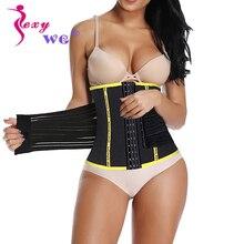 SEXYWG בחזרה תמיכת מותניים מאמן הרזיה גוף Shaper נשים Neoprene סאונה Shapewear משיכת רצועת משרד בטן גוזם רזה חגורה