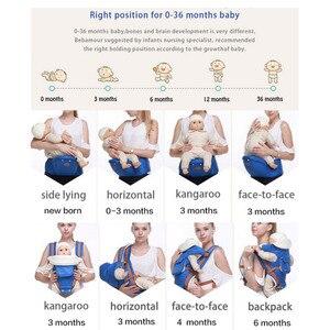 Image 3 - Porta bebé multifuncional mochila ergonómica para bebé 9 en 1 cinturón de transporte para recién nacido de 3 a 36 meses