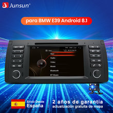 Junsun coche reproductor de DVD Multimedia Android 8,1 GPS sistema estéreo para BMW/E39/X5/E53 WIFI ADAS DVR Radio automotivo canbus(China)