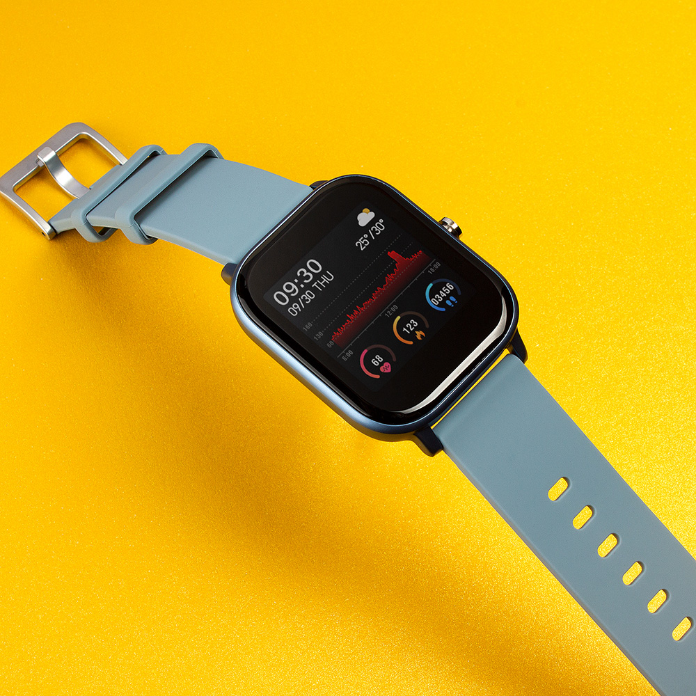 COLMI-Reloj inteligente P8 para hombre y mujer, dispositivo de control de actividad, presión sanguínea y pantalla táctil, 1,4 pulgadas
