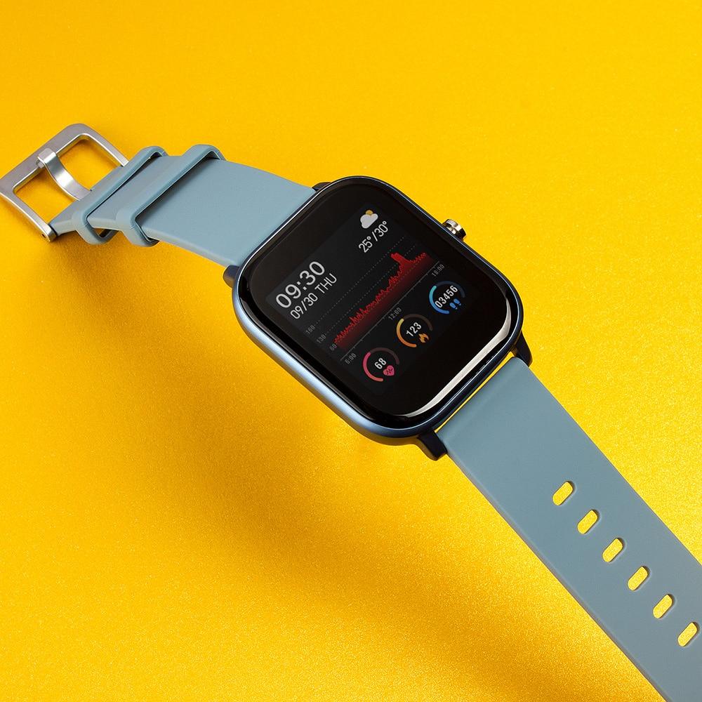 1.4 inch Smart Watch Men Full Touch Fitness Tracker Blood Pressure Smart Clock Women GTS Smartwatch P8 for Xiaomi CLOVER JEWELLERY