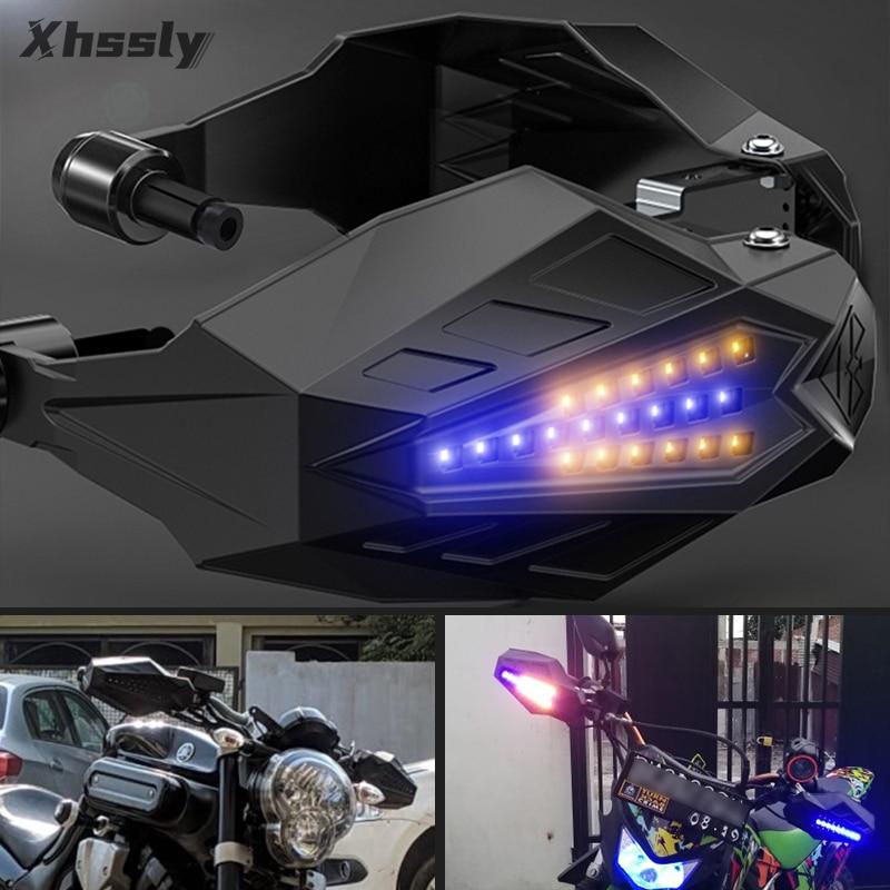 Motorrad Hand Guards Motocross Griff Protector LED Handschutz Für BMW R1200Gs 2004-2012 K100 R1100Rt R1200Rt Gs 800 K1200Rs