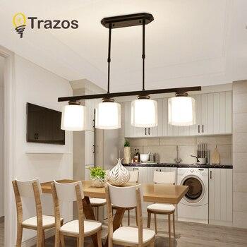 Black Color Modern LED Simple Pendant Lights For Living Room Kitchen Dining room Lustre Pendant Lamp Hanging Ceiling Fixtures