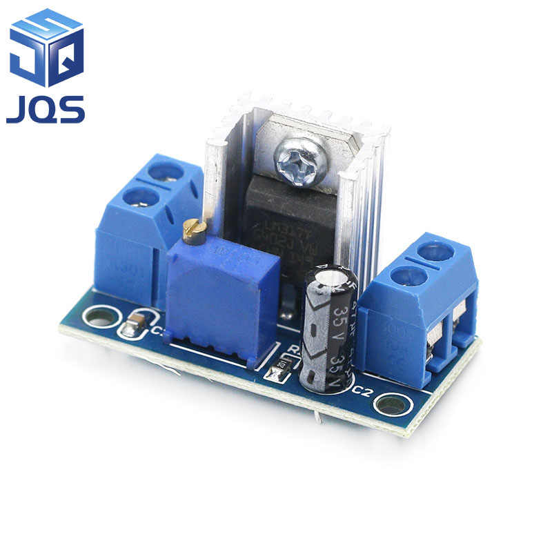 LM317 DC-DC Converter Buck Step Down Printplaat Module Lineaire Regulator LM317 Verstelbare Voltage Regulator Voeding