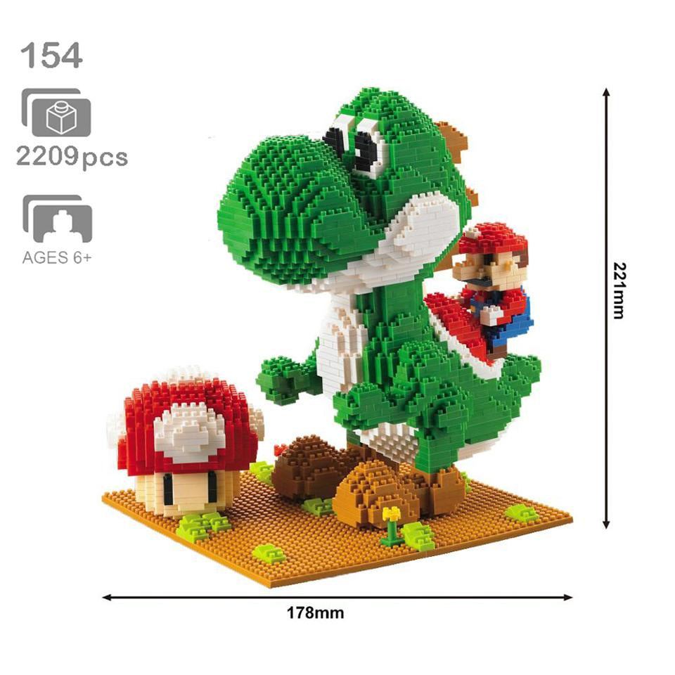 Model-Building-Blocks-Mario-Bros-Yoshi-Series-Cartoon-juguetes-Anime-Figures-Assembled-Mini-Brick-Educational-Toys