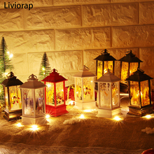 Christmas Decorations for Home Led Candle Light Tree LED Xmas Ornaments Pendants