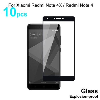 Full Cover Tempered Glass For Xiaomi Redmi Note 4X / Redmi Note 4 Screen Protector Protective Glass For Xiaomi Redmi Note 4 4X