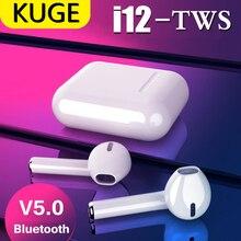 i9s i12 TWS Bluetooth 5.0 Wireless Bluetooth Earphones Mini Earbuds Stereo Headphone for iPhone Huawei I12 Tws Handsfree Headset