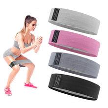 Trening Fitness Hip opaska oporowa antypoślizgowe przysiady Expander siła opaski gumowe joga trening gimnastyczny pleciony gumką