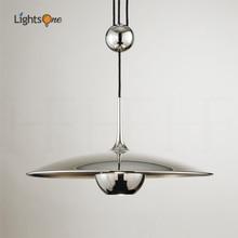 Designer creative pendant light height adjustable shift UFO restaurant personality pendant lamps