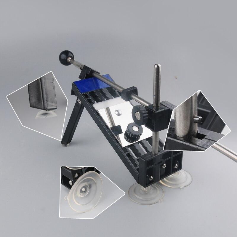Купить с кэшбэком [Video]1 Set New fixed angle knife sharpener professional sharpening tool set meal grindstone diamond grinding knife board