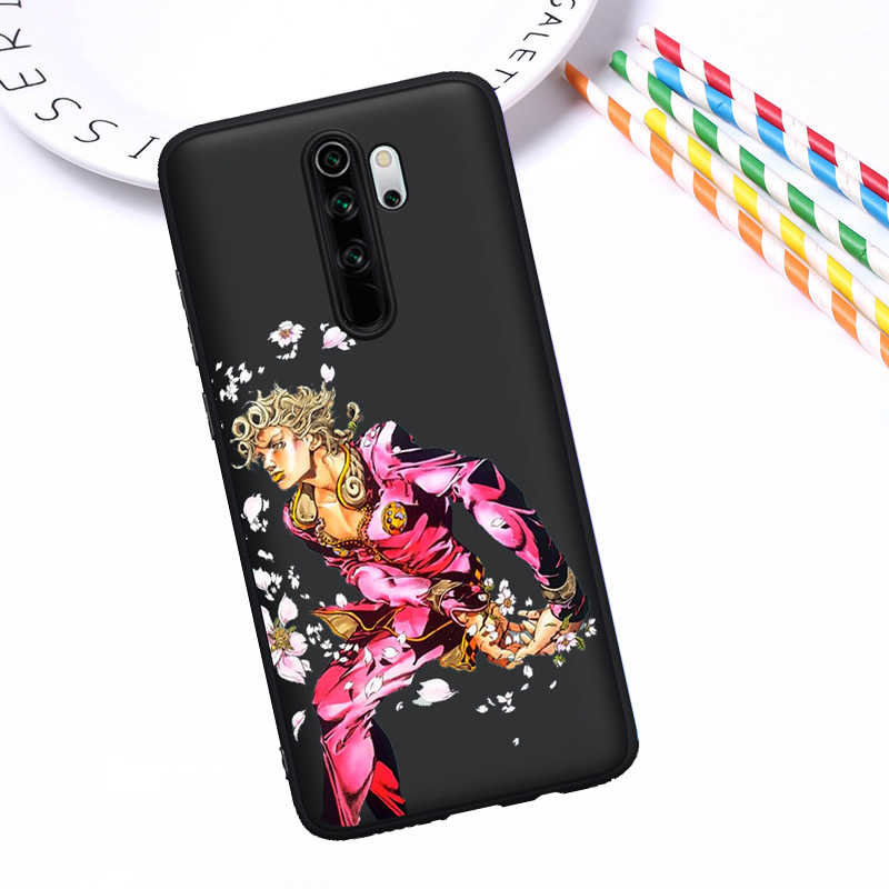 Jojo 39 S Bizarre Adventure Japanse Anime Telefoon Case Cover Voor Xiao Mi Mi 9T Rode Mi Note 5 6 7 8 K20 9T Pro Case Silicone Coque