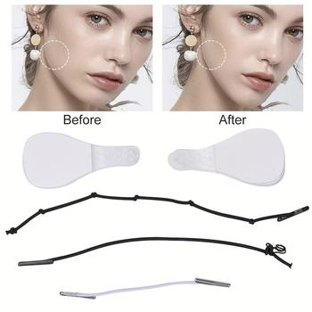 40Pcs/Set Invisible Thin Face Stickers V-Shape Face Facial Line Wrinkle Sagging SkinFace Lift Up Fast Chin Adhesive Tape 5