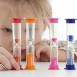 1pc 3/5/10 minutos do bebê mini areia de vidro de areia ampulheta relógio temporizador decoração da casa colorido areia temporizadores escova de dentes temporizador