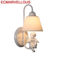Parede 계단 드레싱 테이블 Coiffeuse Avec Miroir Light For Home Applique Murale 조명기구 Wandlamp Aplique Luz Pared Wall Lamp