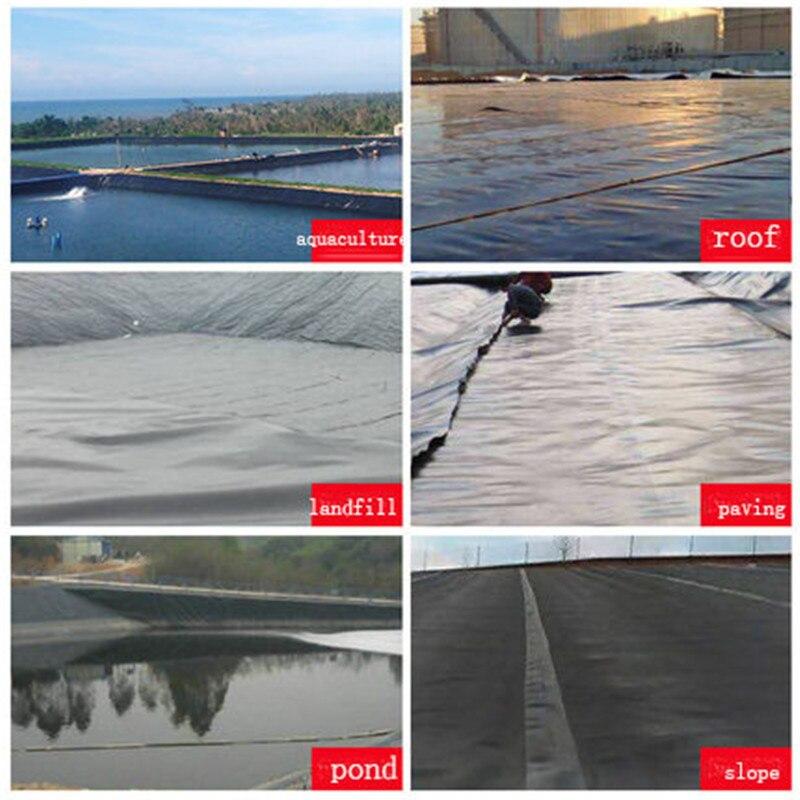 Anti-seepage Membrane Fish Pond Liner Garden Pond Pool Liner Waterproof HDPE Film