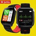 F16 Smartwatch Salute Ppg Ecg IP67 Impermeabile Sport di Frequenza Cardiaca per Android Ios Donne Degli Uomini Pedometro Braccialetto Intelligente