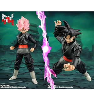 Image 2 - Tronzo Demoniacal Fit Dragon Ball Super Goku Black SHF SSJ Rose Zamasu The Chosen Ones Movable PVC Action Figure Model Toys