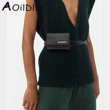 Waist Packs Famous Brand Bags Women PU Leather Ladies Handbag Luxury