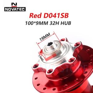 Image 5 - Novatec Hub D041SB D042SB Mountain Bike Disc Card Brake 32 Holes MTB Road Bicycle Bearing 36H Hubs 8/9/10/11/12 Speed Red Black