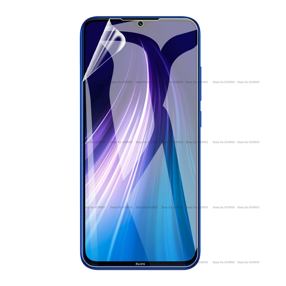 Screen Protector For Xiaomi <font><b>Redmi</b></font> Note <font><b>8</b></font> 7 6 K20 Pro <font><b>8</b></font> 8A 7 7A <font><b>Hydrogel</b></font> Film for Xiaomi Mi 9 SE Mi 9T Pro Soft Protective Film image