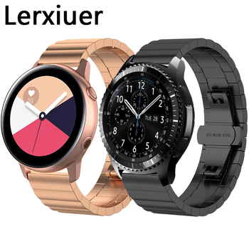 Stainless Steel band for Samsung Galaxy watch 46mm/42mm/Active 2 strap Gear S3 Frontier Huawei watch GT 2 strap 20mm 22mm band