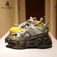 Comprar https://ae01.alicdn.com/kf/H1fc10ba0e66745babc2813d23caa2b87J/Prova Perfetto strass Splice zapatillas de cuero genuino mujeres y parejas punta redonda zapatos de papá.jpg