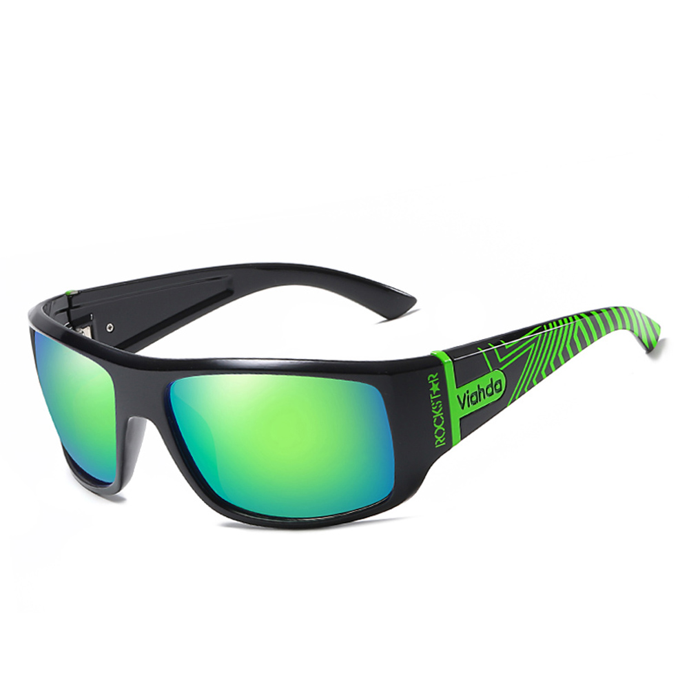 Image 2 - VIAHDA  Men Polarized Sunglasses Driving Sport Sun Glasses Fashion For Men Women   Sun Glasses Travel Male Female  Square ColorMens Sunglasses   -