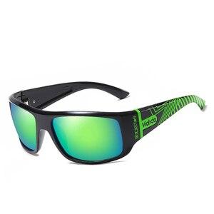 Image 2 - VIAHDA  Men Polarized Sunglasses Driving Sport Sun Glasses Fashion For Men Women   Sun Glasses Travel Male Female  Square Color