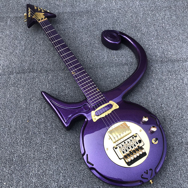 High quality, prince cloud electric guitar,an arrow through a heart,free shipping