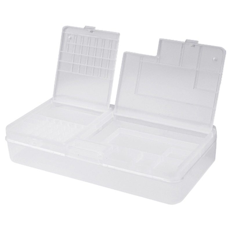 10Pcs/Lot Mobile Phone Repair Tool Box Storage Box For Iphone Motherboard Component Storage Case Container Outillage