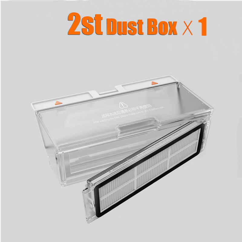 Roborock S50 Dust Box Parts Xiaomi Mi Robot Vacuum 2 Generation Roborock S50 Dust Box Parts For Roborock S55/S51