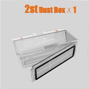 Image 1 - Roborock S50 Dust Box Parts Xiaomi Mi Robot Vacuum 2 Generation Roborock S50 Dust Box Parts for Roborock S55/S51