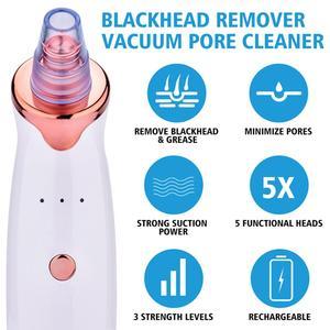 Image 4 - ไฟฟ้า Blackhead Remover สูญญากาศสิวเครื่อง Face ทำความสะอาดกำจัด Point Noir Facial removor de cravo Facial Pores Skin Care