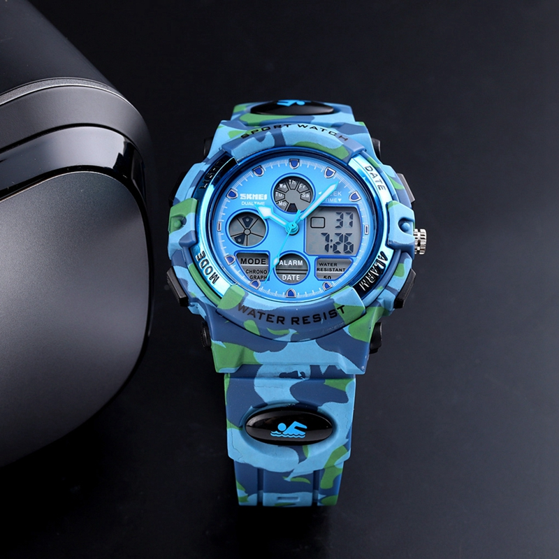 <font><b>SKMEI</b></font> Digital LED Children Watch Waterproof Girls Boys Sports Watches Fashion Student Wristwatch Relogio Infantil Montre <font><b>1163</b></font> image